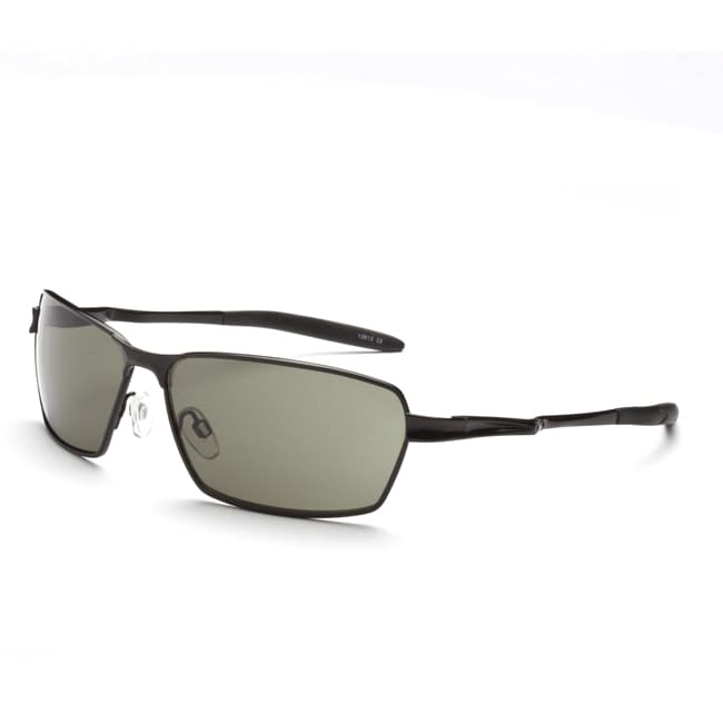 17c59e4f808b Optic Nerve Mens Axel Matte Black Polarized Sunglasses on PopScreen