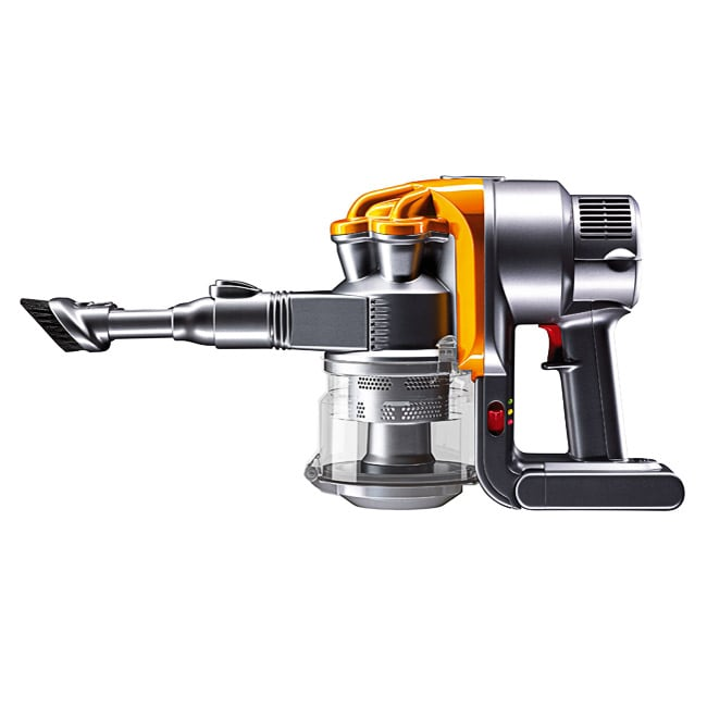 Dyson Dc16 Yellow Iron Handheld Vacuum Refurbished