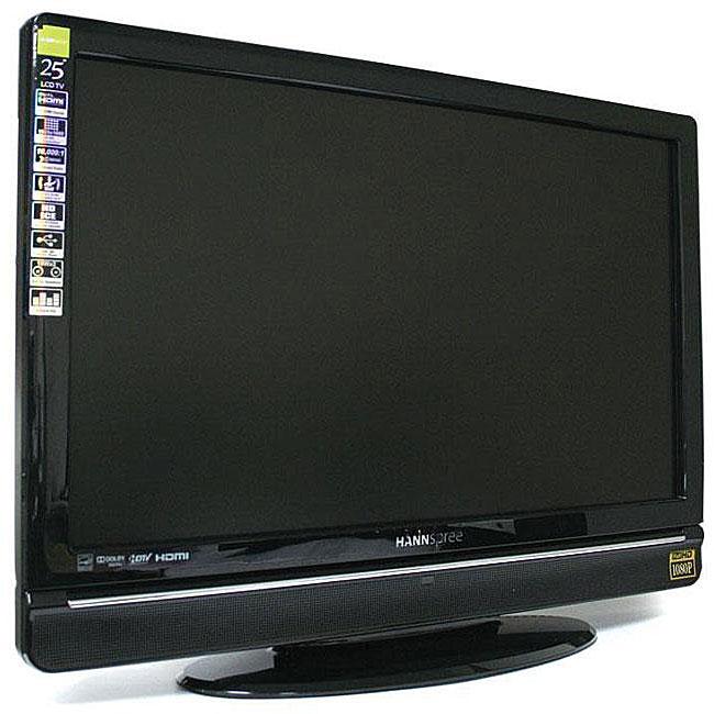 Hannspree Logo: Hannspree ST259MUBUFH3S 25-inch 1080p LCD HDTV