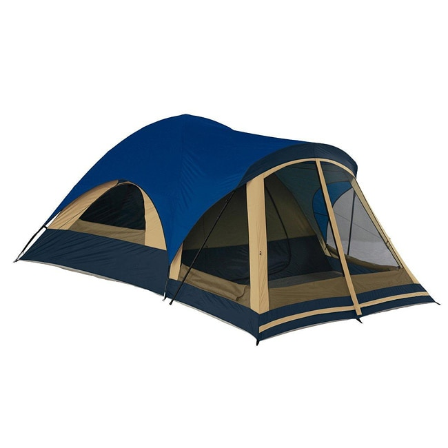 Wenzel Wolf Creek 6 Person Family Dome Tent W Screen