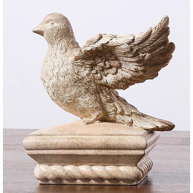 Bird Sculpture Fence Post Cap 13376540 Overstock Com