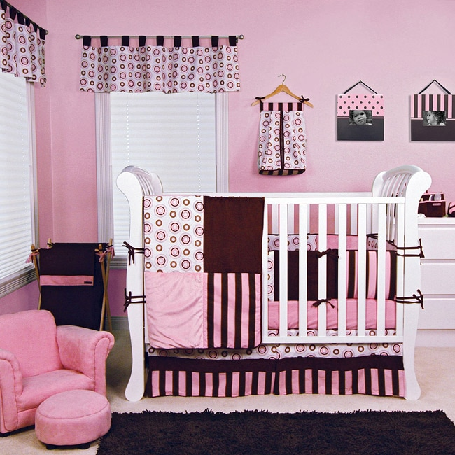 Trend Lab Bubblegum 6 Piece Crib Bedding Set 13378602