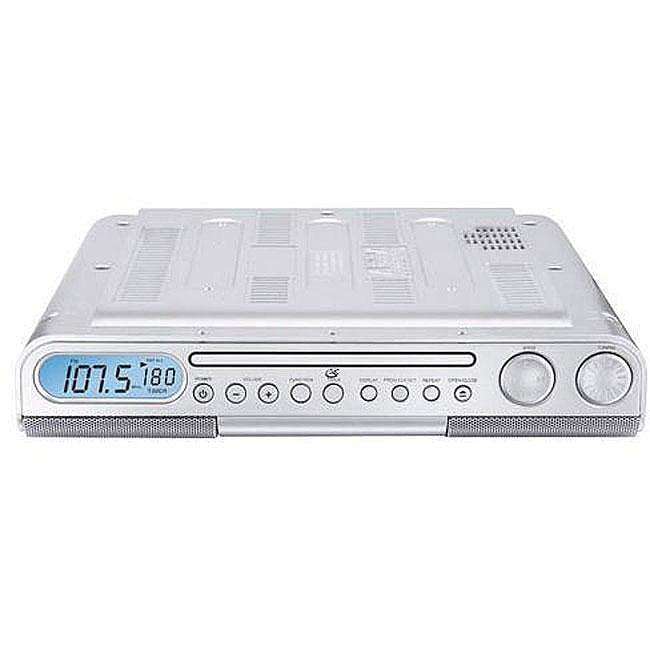 Kitchen Cabinet Radio Cd Player: GPX KC318s Under Cabinet Clock Radio/ CD Player
