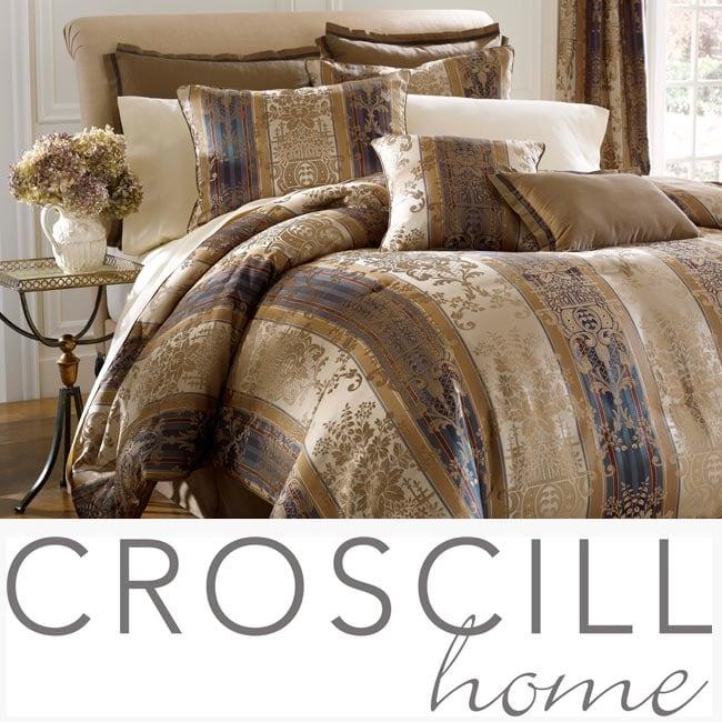 Croscill Kensington 8 Piece King Size Comforter Set
