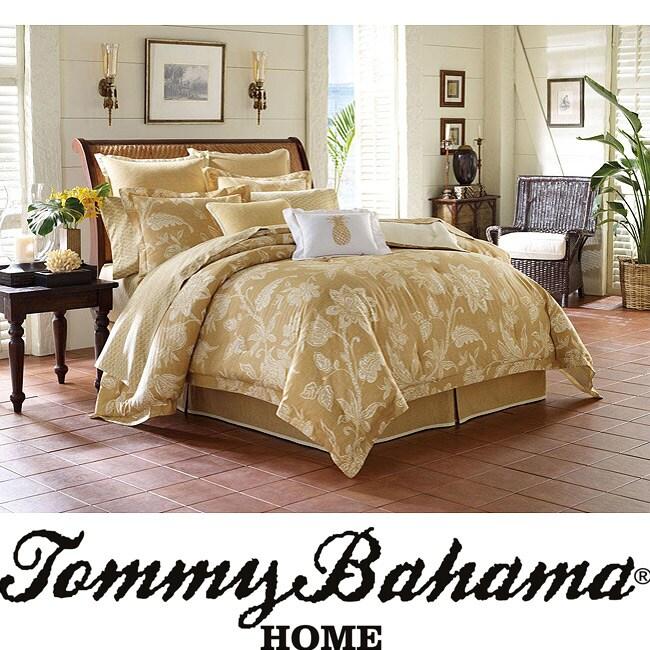 Tommy Bahama Bali King Size 4 Piece Comforter Set
