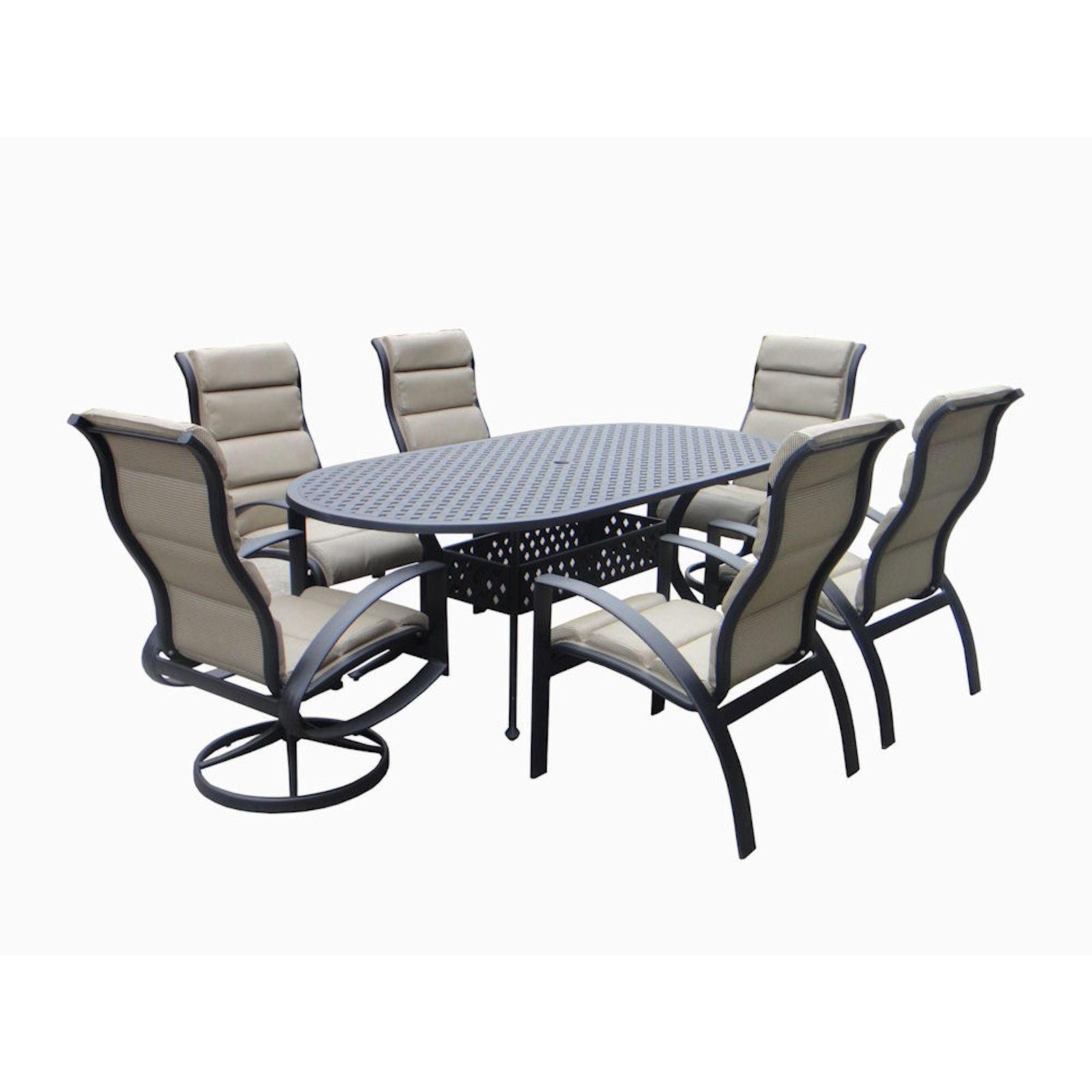 Outdoor Patio Furniture Savannah Ga: Savannah Outdoor Classics Helios Aluminum Sling Patio