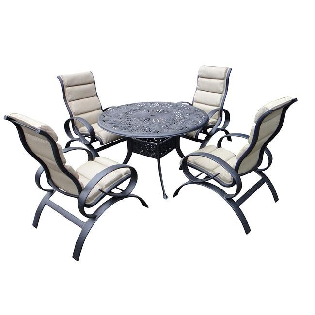 Outdoor Patio Furniture Savannah Ga: Savannah Outdoor Classics Bianca 5-pc Aluminum Sling Patio