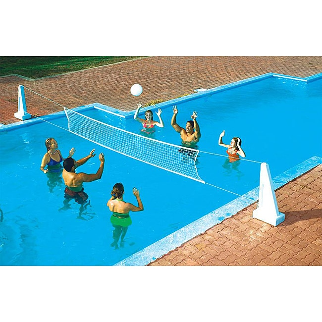 Swimline Pool Jam Volleyball/Basketball Combo In Ground
