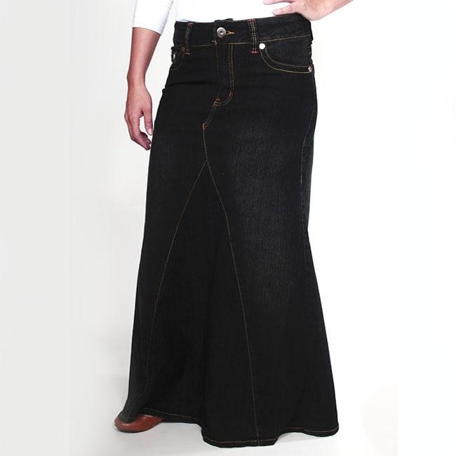 4109051022 Modest Clothing for Women: Modest Denim Skirts