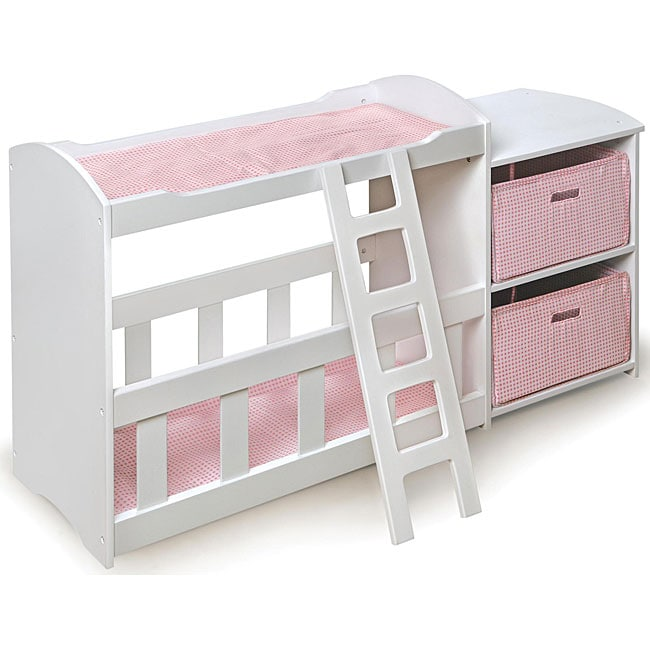 Badger Basket Doll Crib And Changing Table With Dresser
