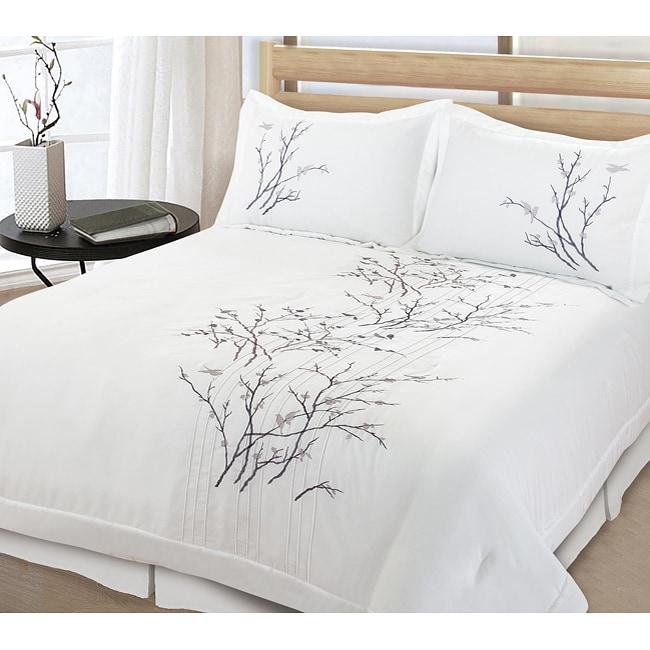 Lightning Branch 3 Piece King Size Comforter Set