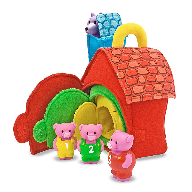 Melissa Amp Doug Three Little Pigs Storytelling Play Set