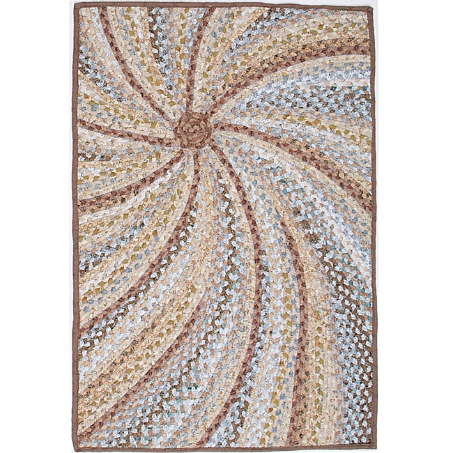 South Beach Braided Cotton Rug (4' X 6')