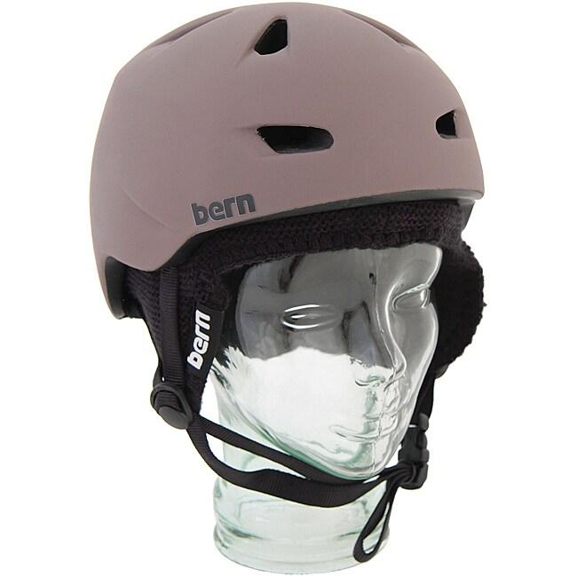 2cf6eeab9f57 Bern Brentwood Matte Brown Small Snowboard Helmet 13939168 on PopScreen