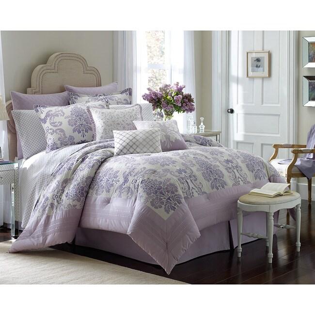 Comforter Sets Queen Ashley: Laura Ashley Addison Queen-size 4-piece Comforter Set