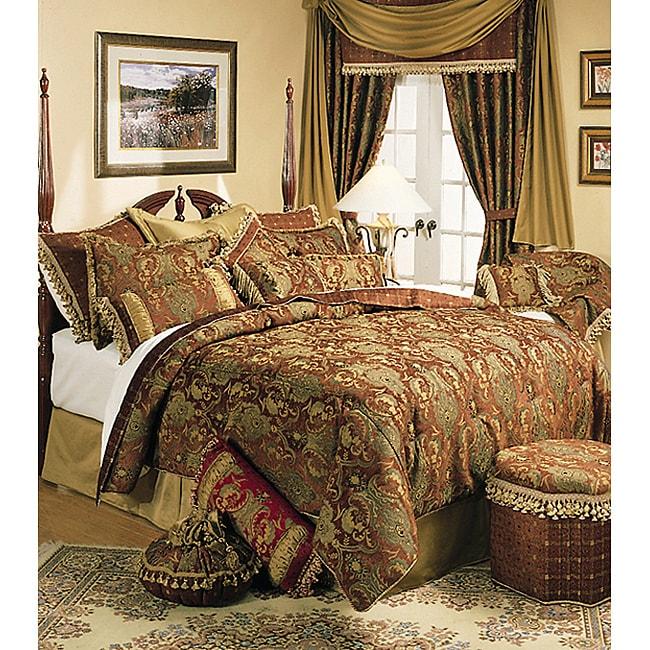 brown king size comforter set Kline China Art Brown King size 6 piece Comforter Set on PopScreen brown king size comforter set