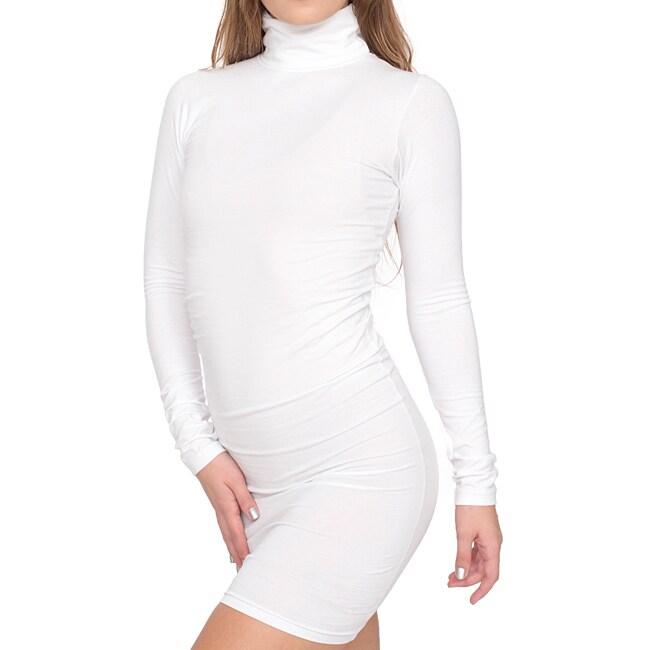 American Apparel Women S White Cotton Spandex Jersey
