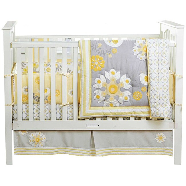 Bananafish Migi Sweet Sunshine 3 Piece Crib Bedding Set