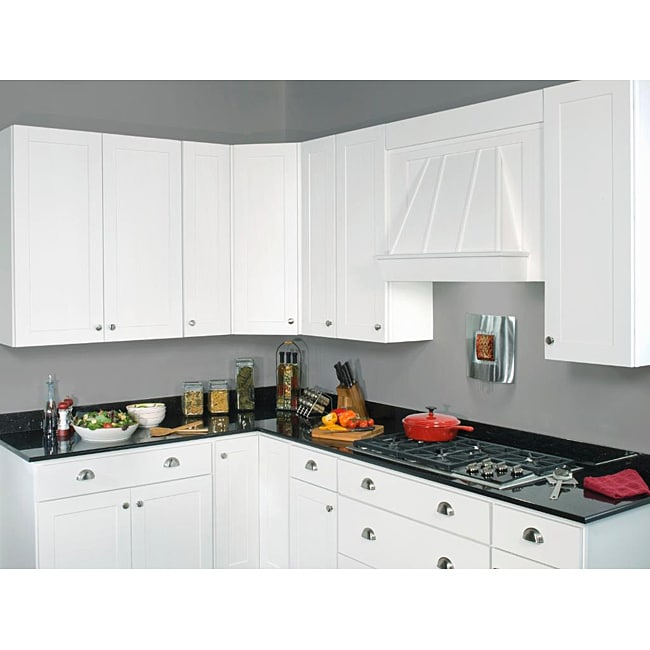 42 Inch Kitchen Cabinets: Sink Base Painted White 42-inch Cabinet