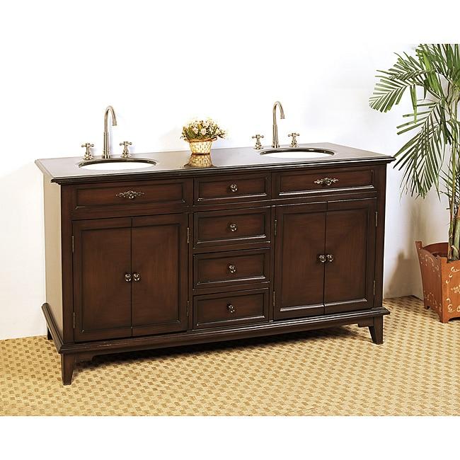 Granite top 69 inch double sink bathroom vanity 14226826 - 66 inch bathroom vanity double sink ...