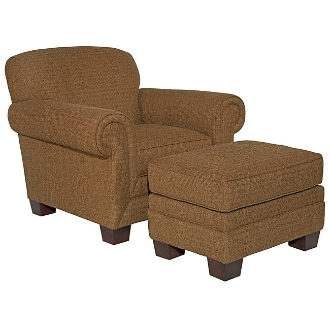 Overstock Stools And Chairs: Broyhill Eve Chair And Ottoman Set