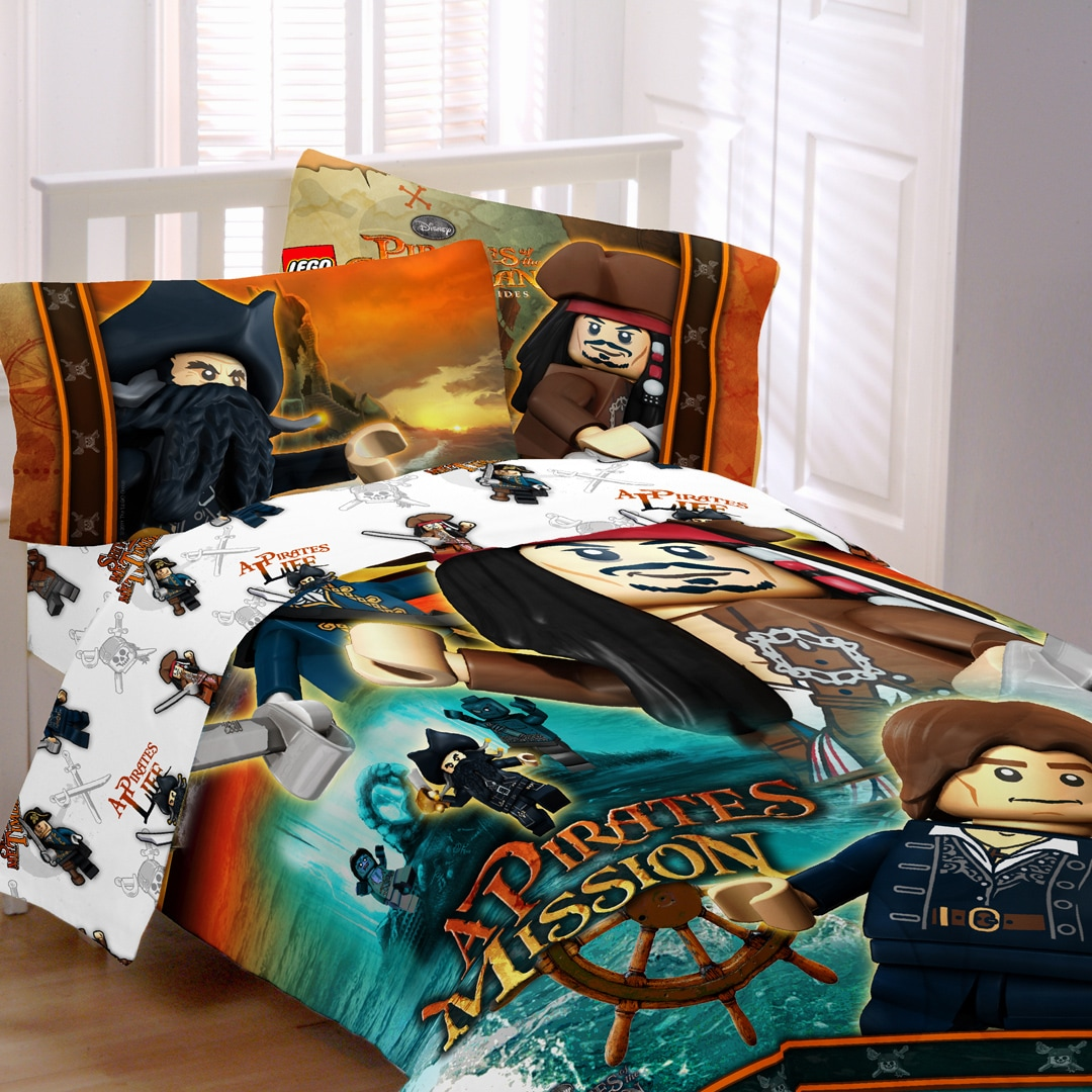 Lego Pirates Ships Away Bed In A Bag With Sheet Set
