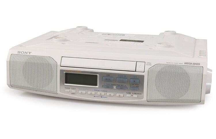 Sony Icf Cd513 Space Saver Cd Clock Radio Refurbished
