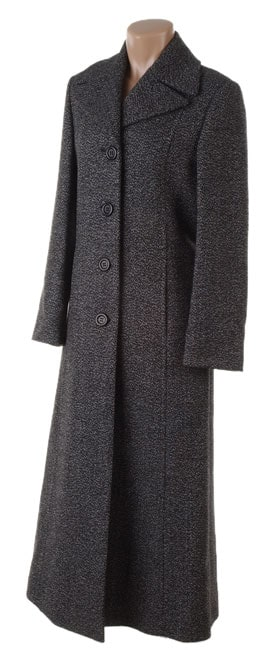 463f2f7f9f8 Cinzia Rocca Due Long Tweed Coat on PopScreen