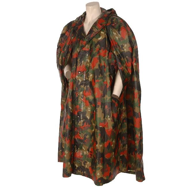 Swiss Camouflage Rain Poncho 943496 Overstock Com