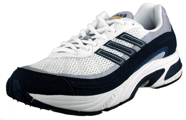 the best attitude 6dbc2 f7601 Adidas Mens Cairo Running Shoe White Navy Silver