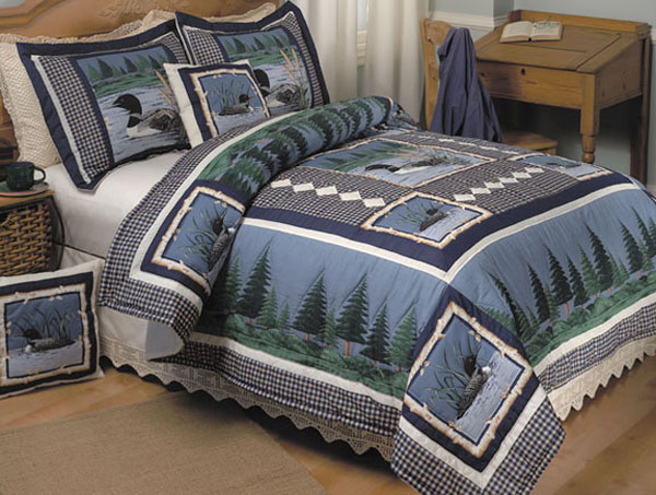 Lazy Loon Handstitched Quilt Set 428515 Overstock Com