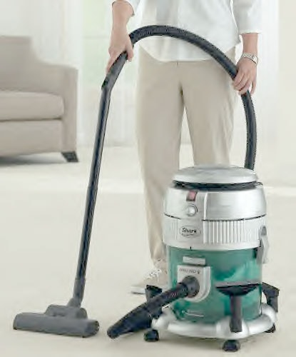 Euro Pro Shark Bagless Water Filtration Vacuum