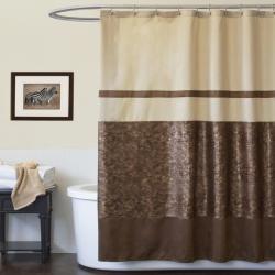 Shower Curtains Brown