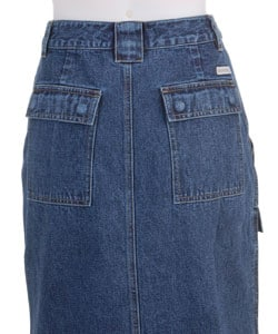 Plus Size Cargo Skirt 28