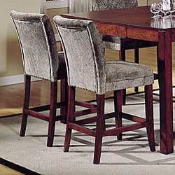 Parson Cherry Olive Polyester Fabric Chair Set Of 2