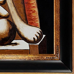 Pablo Picasso 'Woman in Red Armchair' Oil Painting ...