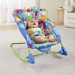 Fisher Price Deluxe Infant To Toddler Comfort Rocker