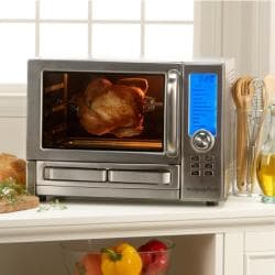 Wolfgang Puck 1500 Watt Digital Convection Oven With Pizza
