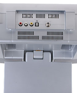 Sony Icf Dvd57tv Under The Cabinet Lcd Tv Dvd Cd Clock