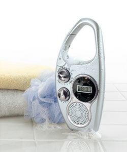 Shower Clock Radio with TV Audio - 10378721 - Overstock ...