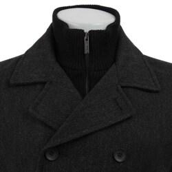 Kenneth Cole New York Herringbone Wool Blend Jacket