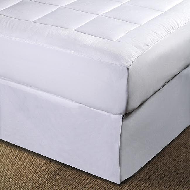 microplush pillow top twin twin xl full size mattress pad 12749523 shopping. Black Bedroom Furniture Sets. Home Design Ideas