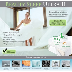 Bed Bug Waterproof Expandable To 20 Inches Queen Size