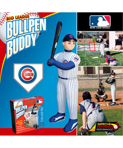 Chicago Cubs Inflatable Bullpen Buddy 10825465 Overstock Com Shopping Great Deals On Baseball