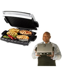 George Foreman Grp72ctts G Broil Grill Supreme Electric