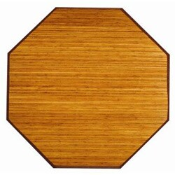 Camel Bamboo Rug 5 Octagon Overstock Shopping Great