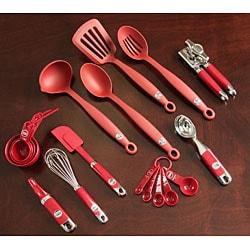 Kitchen Aid 11 Piece Red Kitchen Tool Set 11910143