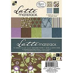 DCWV Latte Mat Stack