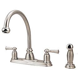 Moen Double Handle Kitchen Faucet Faucet Com Ca87552