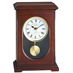Seth Thomas Madison Brown Wood Pendulum Mantel Clock